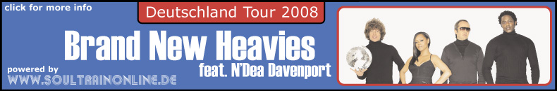Brand New Heavies Tour 2008 - click for more info!