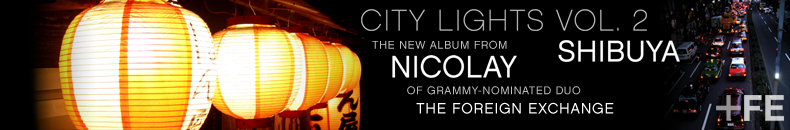 Nicolay - City Lights Vol.2: Shibuya... Check it out!