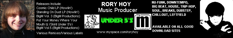 Rory Hoy - www.myspace.com/roryhoy - Check it out!